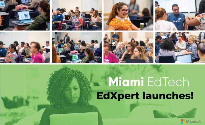 Miami EdTech hosts close to 50 teachers for their EdXpert Workshop