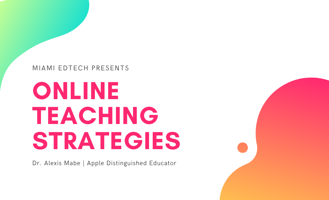 Effective Online Teaching Strategies